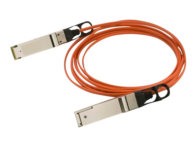 HPE Aruba - 40GBase-AOC direct attach cable - QSFP+ to QSFP+ - 15 m