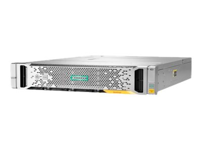 HPE StoreVirtual 3200 SFF - Baie de disques - 5.4 To - 25 Baies (SAS-3) - HDD 900 Go x 6 - 8Gb Fibre Channel, 16Gb Fibre Channel (externe) - rack-montable - 2U - Top Value Lite
