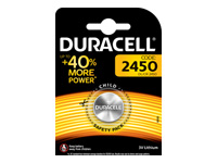 Picture of Duracell DL 2450 battery x CR2450 - Li (DL2450)