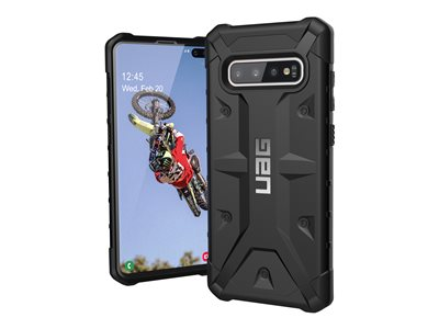 Rugged Case for Samsung Galaxy S10 Plus [6.4-inch screen] - Pathfinder Black