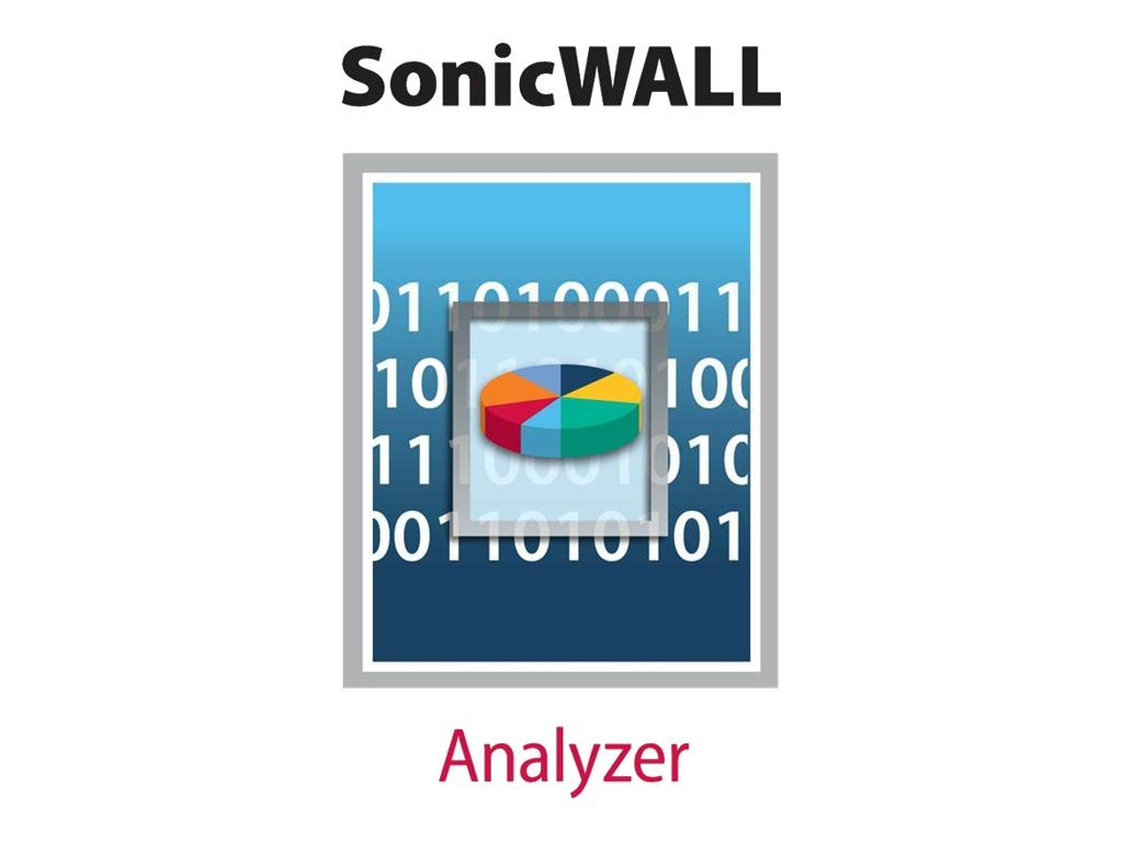 SonicWall Analyzer for NSA 240, NSA 2400, PRO 1260, PRO 2040 - license - 1 license