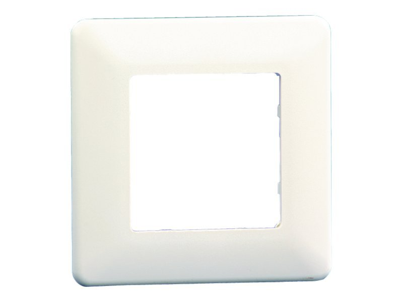 BTR Cover Plate for E-DAT modul Wall Outlet - Frontabdeckung - Pure White