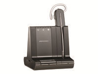 Plantronics Savi W740 - 700 Series - headset - convertible - wireless - DECT
