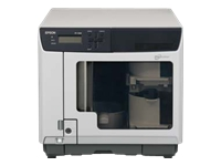 Epson Discproducer PP-100N - Disc duplicator - slots: 100 - DVD+RW (double layer) x 2 - Gigabit Ethernet - external