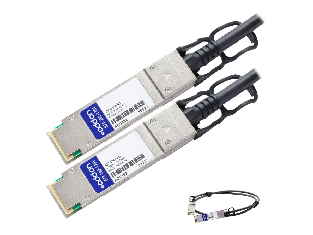 AddOn 10GBase direct attach cable - TAA Compliant - 7 m