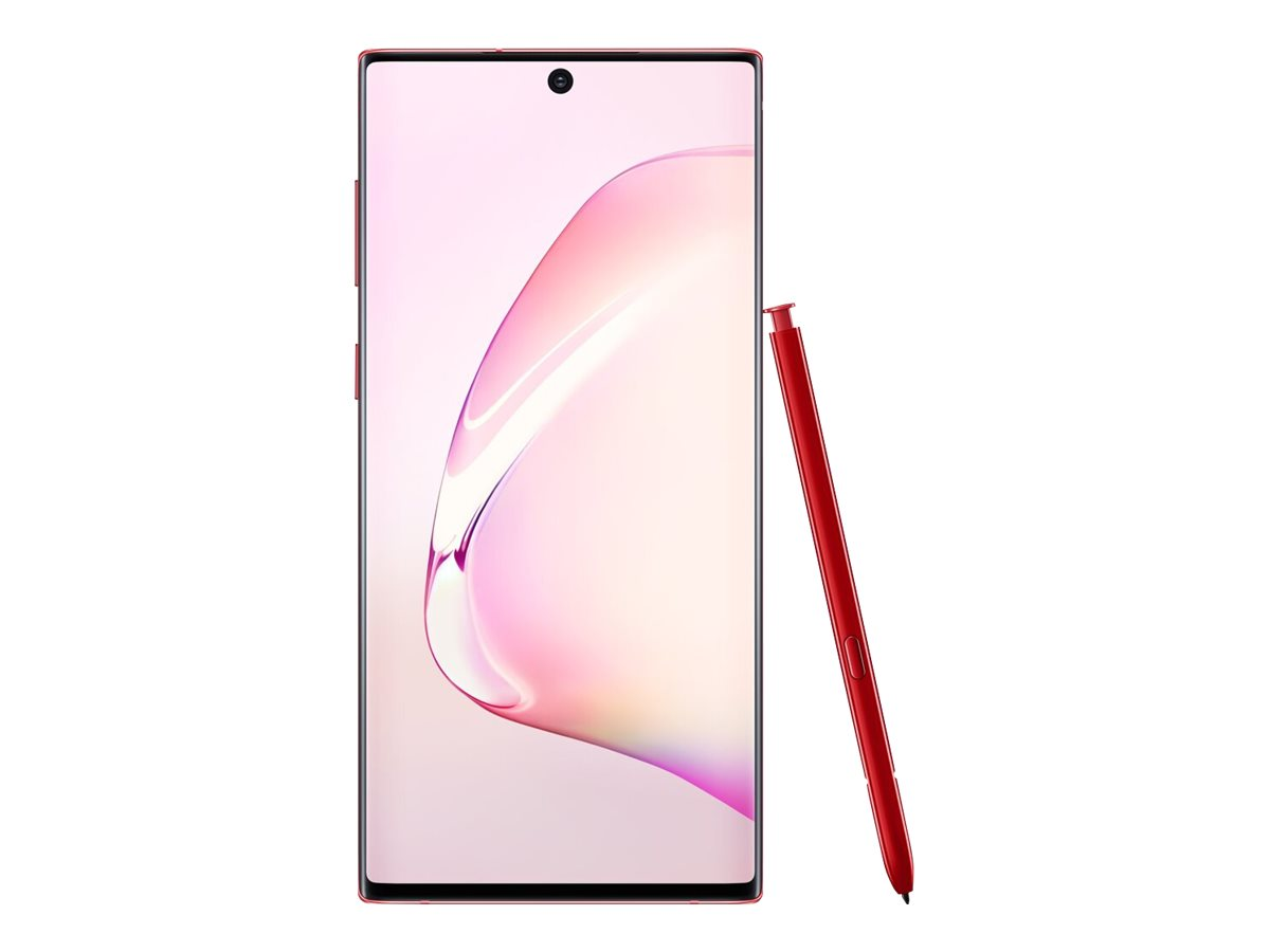 Samsung Galaxy Note10 - aura red - 4G - 256 GB - CDMA / GSM - smartphone