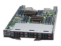 Supermicro SuperBlade SBI-7128R-C6 Server blade 2-way RAM 0 GB SATA/SAS hot-swap 2.5INCH