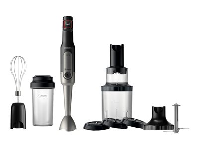 Philips Viva Collection Stavblender Turbofunktion Sort/rustfrit stål