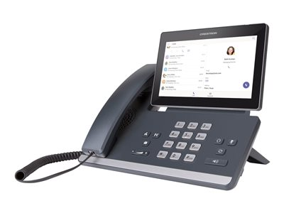 Crestron Flex P100-T for Microsoft Teams VoIP phone SRTP
