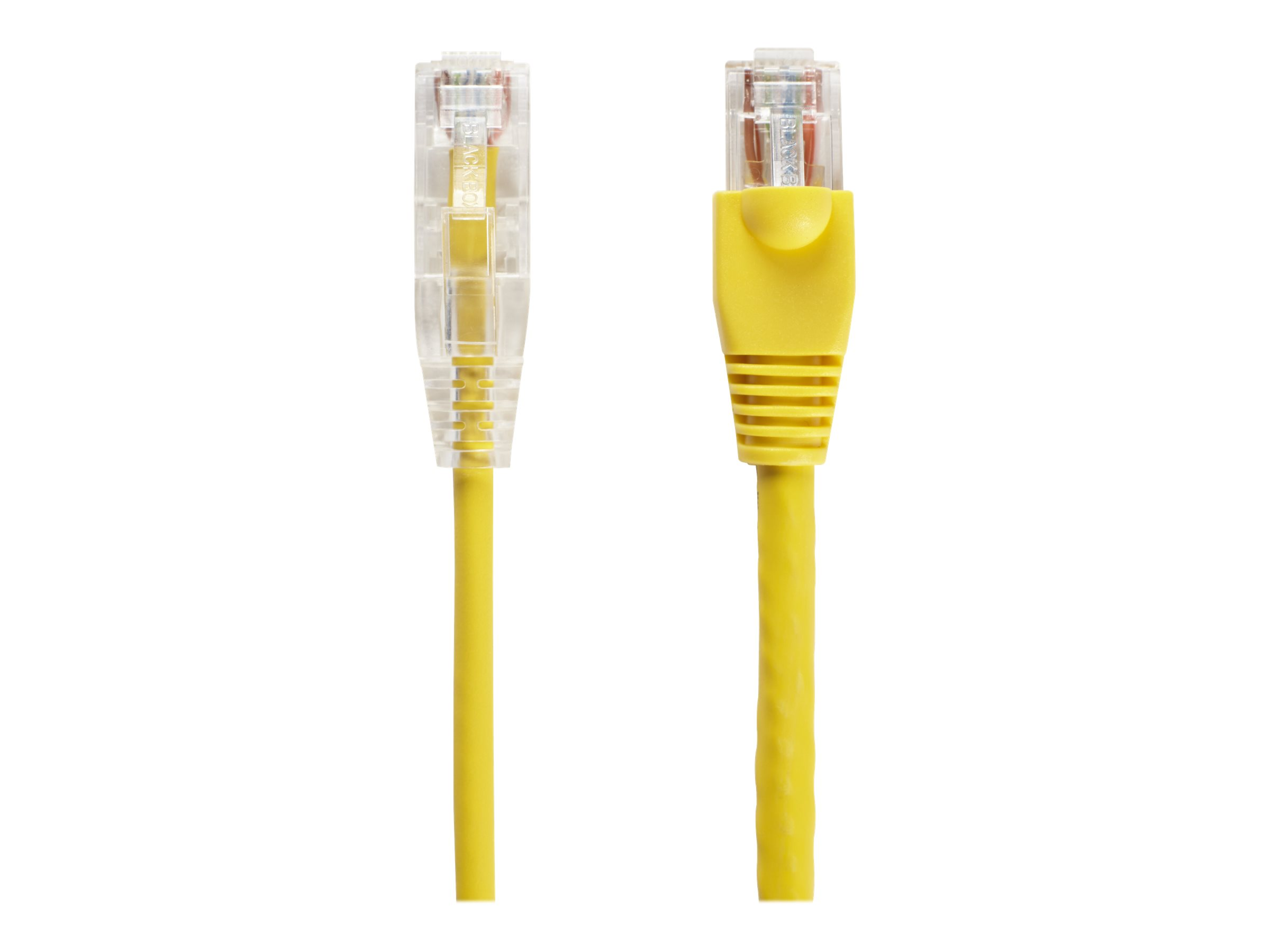 Black Box Slim-Net patch cable - 91 cm - yellow