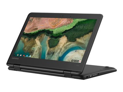 Lenovo 300e Chromebook (2nd Gen) MTK 81QC Flip design MT8173c / 2.1 GHz Chrome OS 4 GB RAM