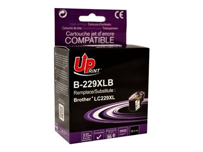 compatibles Brother  Brother LC229XL - compatible UPrint B.229XLB - noir  - cartouche d'encre