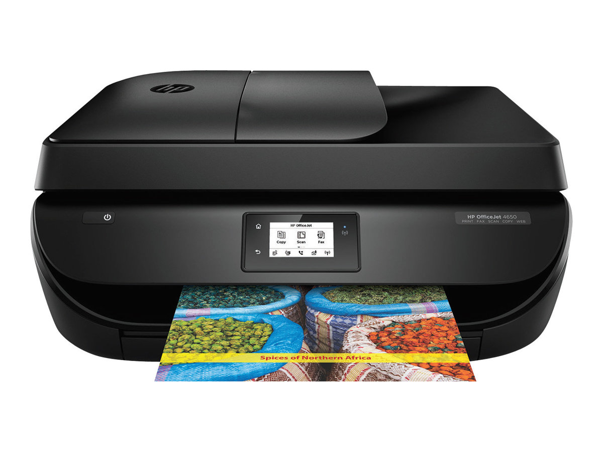 HP Officejet 4650 All-in-One - Multifunktionsdrucker - Farbe - Tintenstrahl - Letter A (216 x 279 mm)/A4 (210 x 297 mm) (Original) - A4/Legal (Medien)