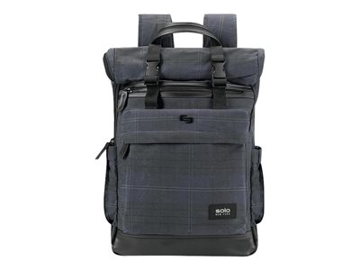 SOLO Highland Collection Cameron Rolltop Notebook carrying backpack 15.6INCH