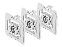 Bosch Smart Home Adapter Gira 55 (G) - Adaptateur d'interrupteur de montage (pack de 3)
