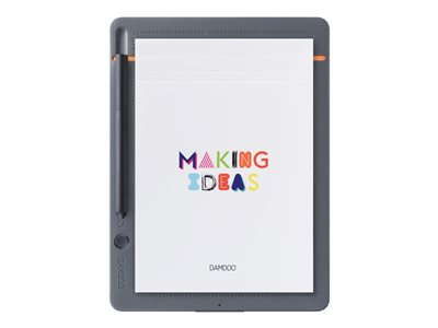 Wacom Bamboo Slate Small Grå Orange