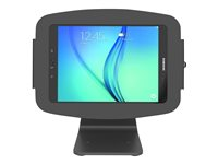 Compulocks Space 360 Kiosk Tablet Stand with Galaxy Tab Enclosure - Mounting kit (anti-theft enclosure, stand base) for tablet