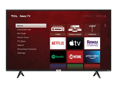 TCL 50S435 50INCH Diagonal Class (49.5INCH viewable) 4-Series LED-backlit LCD TV Smart TV