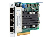 HPE FlexFabric 536FLR-T - Network adapter - PCIe 3.0 x8 - 10Gb Ethernet x 4 - for ProLiant DL20 Gen10, DL360 Gen10, DL380 Gen10, DL580 Gen9; SimpliVity 325 Gen10