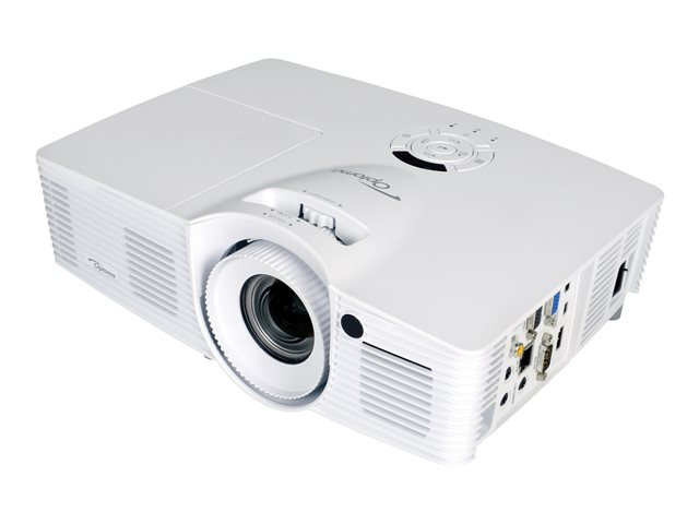 Optoma DH401 - Projecteur DLP - portable - 3D - 4000 ANSI lumens - Full HD (1920 x 1080) - 16:9 - 1080p