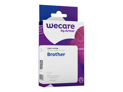 compatibles Brother  Brother LC1100/LC980 - compatible Wecare K12444W4 - noir - cartouche d'encre