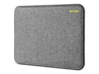 Incase Designs ICON Notebook sleeve 12INCH black, heather gray for A