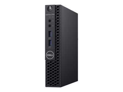 Dell OptiPlex 3060 Micro 1 x Core i3 8100T / 3.1 GHz RAM 4 GB HDD 500 GB