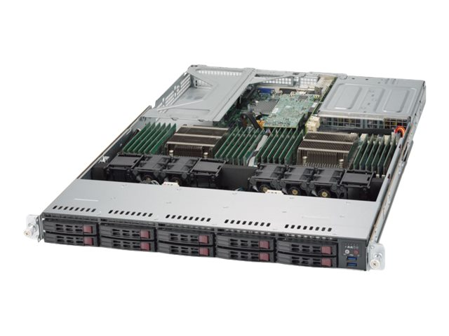 "Supermicro 1U 10x 2.5"" Bays SuperServer 1028U-E1CR4+ (Complete System Only)"