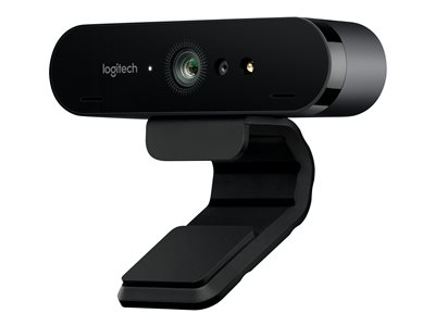 Logitech BRIO 4K Ultra HD webcam Web camera color 4096 x 2160 audio USB