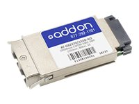 AddOn Allied AT-G8ZX70/1550 Compatible GBIC Transceiver - GBIC transceiver module - GigE