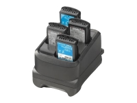 Zebra 4-slot battery charger - Battery charger - for Zebra MC3300 Premium, MC3300 Premium Plus, MC3300 Standard