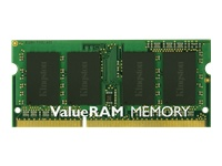 Kingston ValueRAM - DDR3L - 4 GB - SO-DIMM 204-pin - 1600 MHz / PC3-12800 - CL11 - 1.35 V - unbuffered - non-ECC