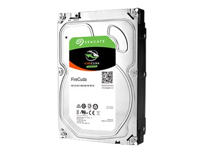 Seagate FireCuda ST1000DX002 - Hybrid-Festplatte - 1 TB (8 GB Flash) - intern - 3.5