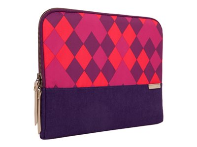 STM Grace Notebook sleeve 11INCH 12INCH purple diamonds