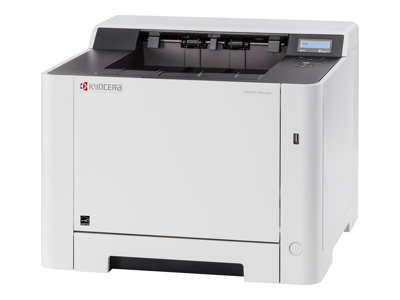 Kyocera ECOSYS P5021cdw - Printer - colour - Duplex - laser - A4/Legal - 9600 x 600 dpi - up to 21 ppm (mono) / up to 21 ppm (colour) - capacity: 300 sheets - USB 2.0, Gigabit LAN, USB host, Wi-Fi