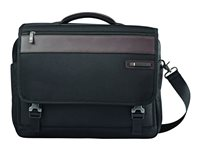 Samsonite Kombi Flapover Briefcase Notebook carrying case 15.6INCH black, brown