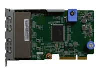 Lenovo ThinkSystem Network adapter LAN-on-motherboard (LOM) Gigabit Ethernet x 4
