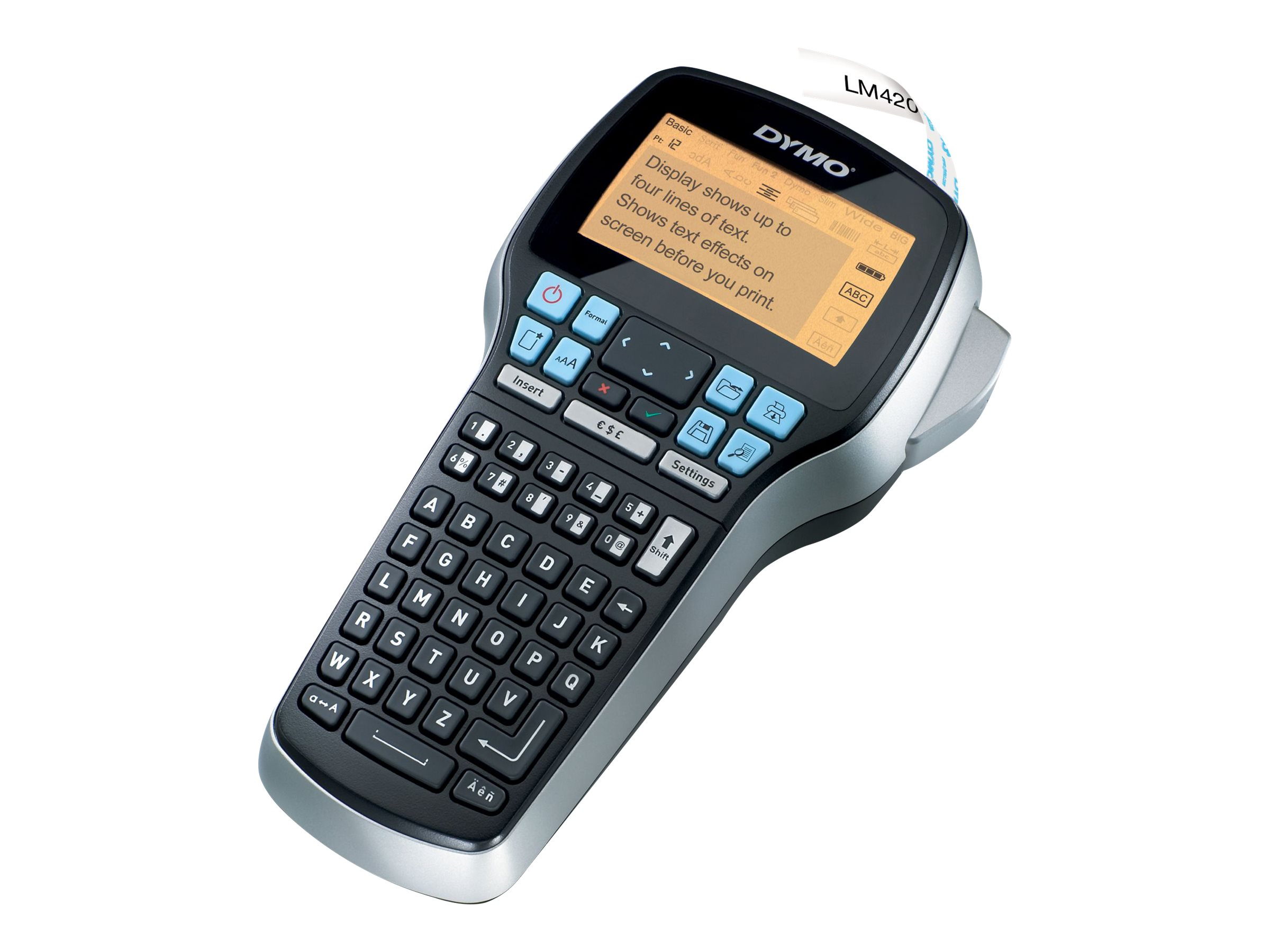 DYMO LabelMANAGER 420P - labelmaker - B/W - thermal transfer