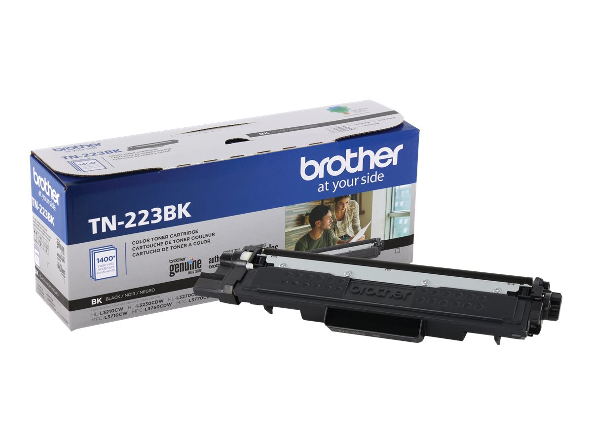 Brother TN-223BK - black - original - toner cartridge