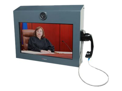 """Poly RealPresence VideoProtect 500 - video conferencing kit - 22"""" - with EagleEye Acoustic Camera"""