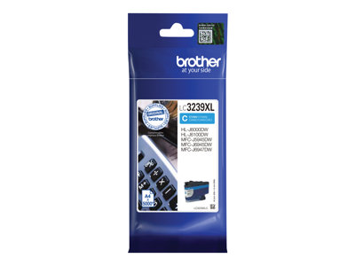 Brother Brother LC3239XLC - cyan - originale - cartouche d'encre