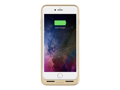 mophie Juice Pack Air External battery pack 2420 mAh (Lightning) on cable: Micro-USB gold