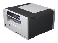Ricoh SG 2100N - Printer - colour - ink-jet - A4 - 3600 x 1200 dpi - up to 29 ppm (mono) / up to 29 ppm (colour) - capacity: 250 sheets - USB, LAN