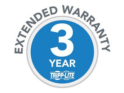Tripp Lite 3-Year Extended Warranty for select Products - extended service agreement - 3 years