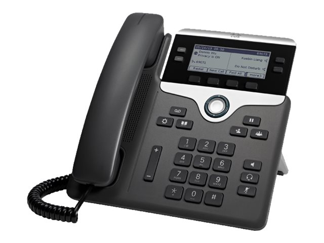 Cisco IP Phone 7841 - VoIP-Telefon - SIP - 4 Leitungen