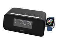 iHome IWBT5 Clock radio 8 Watt black