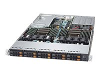 "Supermicro 1U 10x 2.5"" Bays SuperServer 1028U-TN10RT+ (Complete System Only)"