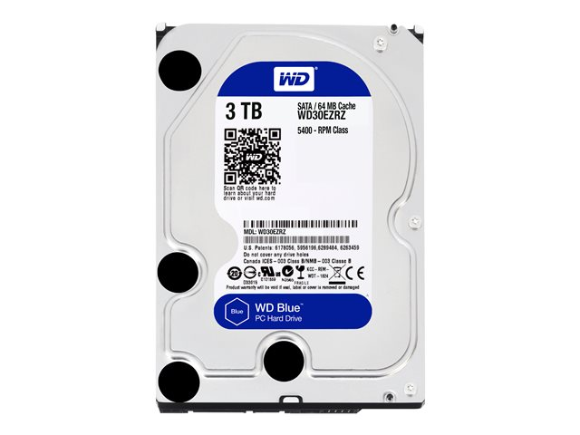 Image of WD Blue WD30EZRZ - hard drive - 3 TB - SATA 6Gb/s