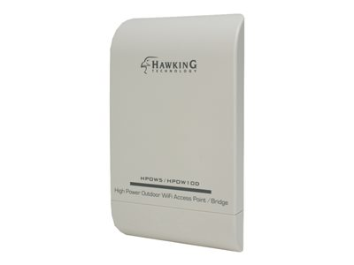 Hawking High Power Outdoor WiFi Access Point / Bridge HPOW10D Wireless access point Wi-Fi