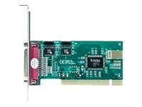 Longshine LCS-6022 - Adapter Parallel/Seriell - PCI - parallel, Seriell - 3 Anschlüsse